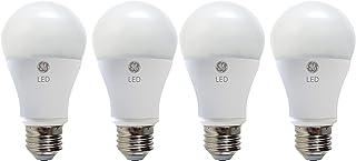 GE LED Light Bulb, A19, 40-Watt Replacement, Soft White, 4-Pack LED Light Bulbs, Medium Base, Dimmable