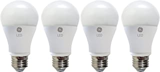 GE Lighting 67614 LED A19 Light Bulb with Medium Base, 7-Watt, Daylight, 4-Pack, 4