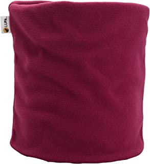 LUPA Canadian Handmade Unisex Double-Layer Micro Fleece Neck Warmer