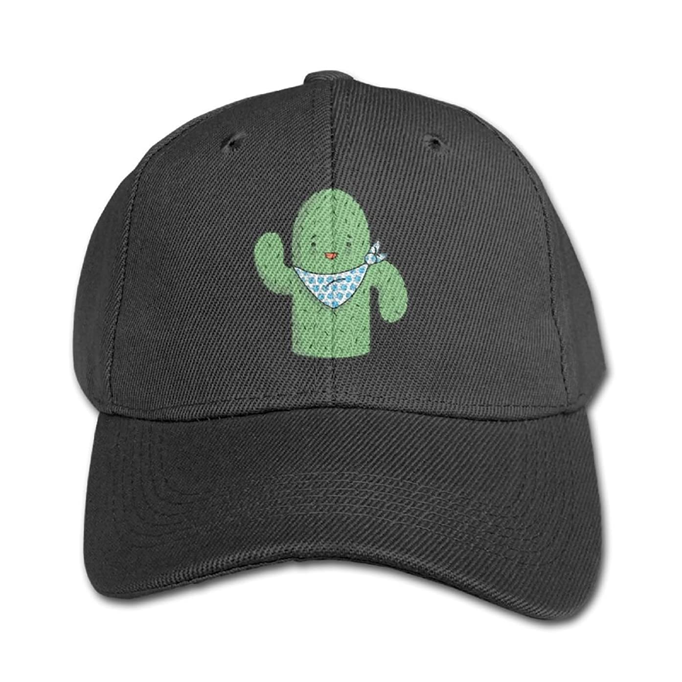 Elephant AN Cute Cactus Pure Color Baseball Cap Cotton Adjustable Kid Boys Girls Hat
