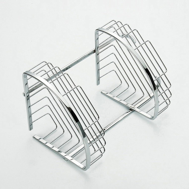 Cpp Shelf Bathroom Shelf Stainless Steel Double Fashion Corner Frame Triangle Basket