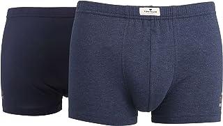 Tom Tailor Men's Plain Underwear Set Blue Blau-Dunkel-Melange