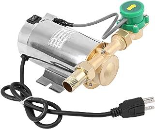 Ridgeyard 250GPH Electric 90W Shower Washing Machine Automatic Water Pressure Booster Stainless Pump Max Flow 16L/min (4 GPM)