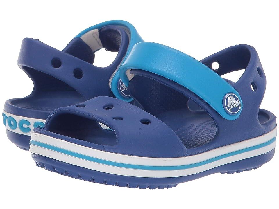 Crocs Kids Crocband Sandal (Toddler/Little Kid) (Carnation/Amethyst) Kids Shoes