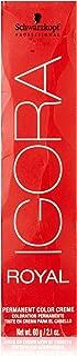 Schwarzkopf Professional Igora Royal Permanent Hair Color Creme 7-77, Medium Blonde Copper Extra, 60 Gram
