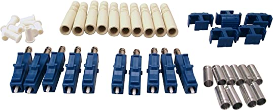 Shaxon FCLC-SM-10-B, LC Fiber Optic Connectors, Single Mode, 10 Pack