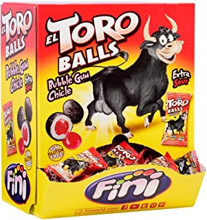 Fini El Toro Balls Chewing Gum 200 Pieces