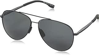 BOSS by Hugo Boss Men's Boss 0938/s Polarized Aviator Sunglasses, Green, 62 mm