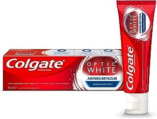 Colgate Optik Beyaz Anında Beyazlık Beyazlatıcı Diş Macunu 75 ml 1 Paket (1 x 75 ml)
