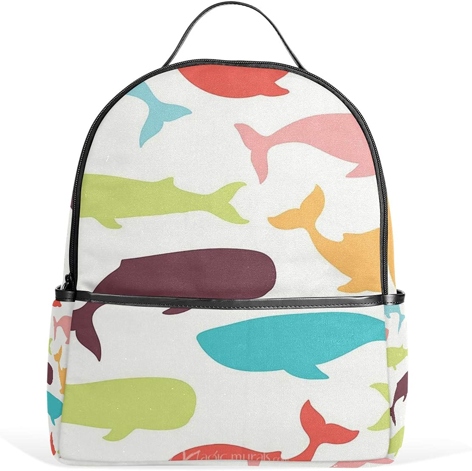Daypacks & Casual Bags Camping & Hiking Backpack Rucksack Travel Daypack Abstract Rainbow Spiral Flower Colorful Art Book Bag Casual Travel Waterproof