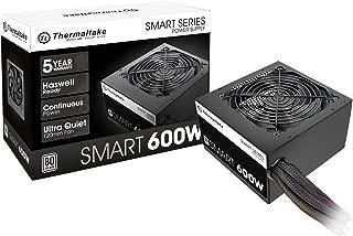 Thermaltake SMART 600W ATX 12V V2.3/EPS 12V 80 PLUS Certified Active PFC Power Supply PS-SPD-0600NPCWUS-W