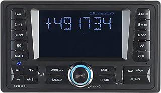 Creasono Doppel DIN Radio: 2 DIN MP3 Autoradio CAS 4380.bt mit RDS, Bluetooth, USB & SD, 4X 45 W (2 DIN Autoradios)