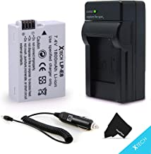 High Capacity LP-E8 / LPE8 Battery and Battery Charger for Canon EOS Rebel T2i T3i T4i T5i EOS 550D 600D 650D 700D Kiss X4 X5 X6 DSLR Cameras