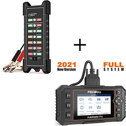 discount FOXWELL NT624 online Elite Obd2 Scanner Automotive All Systems Diagnostic lowest Scan Tools Vehicle Code Reader with 12V 24V Car Battery Tester online
