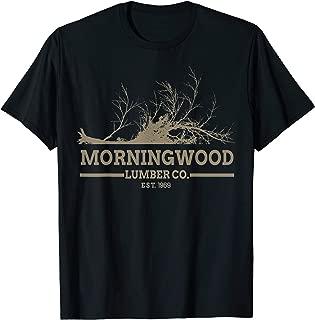 Morningwood Lumber Co EST. 1969 Funny Morning Wood Shirt