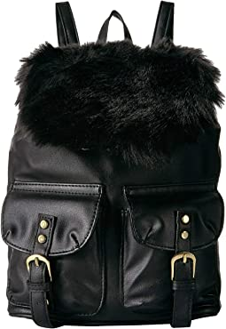 Fur Backpack