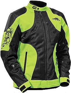 Castle Prism Women's Motorcycle Jacket Hi-Vis XLG