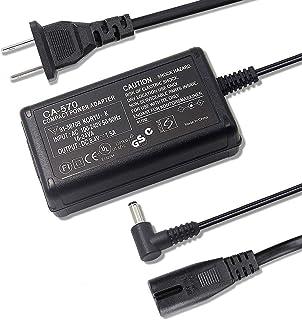 CA-570 AC電源アダプターCA570充電器キット対応Canon FS21 FS22 FS200 FS300 HF10 HF11 HF20 HF100 HF200 HF M31 HF S10 HG20 HG21 HG30 HR10 HV10...
