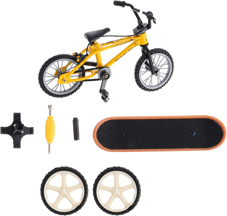 BESPORTBLE Mini Finger Toy Atlanta Mall Set Over item handling ☆ Skateboard Bike Toys Fi Miniature