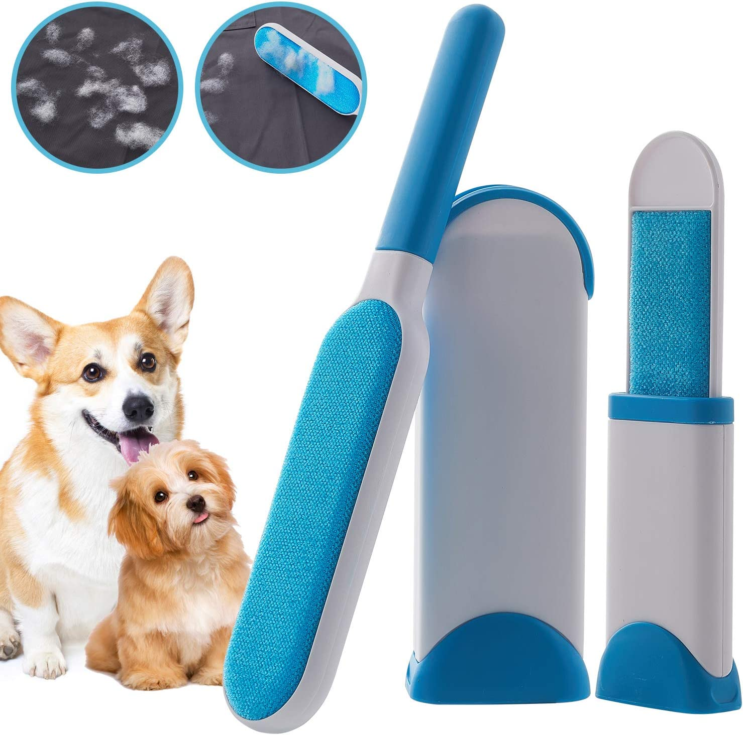 Worthyeah Pet Hair Arlington Mall Remover with Self-Cleaning Brush Lint Popular brand