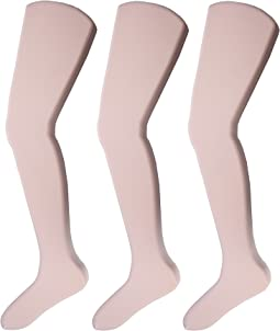 Jefferies Socks - Jr. Miss Pantyhose 3-Pack (Toddler/Little Kid/Big Kid)