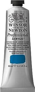 Winsor & Newton Professional Acrylic Color Paint, 60ml Tube, Phthalo Blue Green Shade