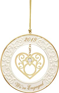 Lenox 886818 We're Engaged 2019 Gemstone Ornament