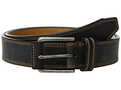 Trask Gallatin Belt (Black American Bison) Men