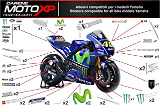 Pegatinas adhesivos Motos racing Yamaha R1 2015 2016 2017 MT17