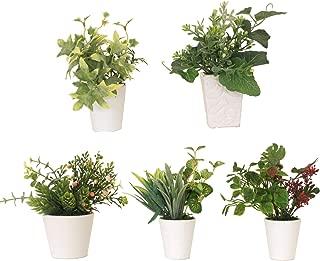 山久 CT触媒加工 の グリーン ミニポット 5個おまかせセット 0910-9010a 観葉植物 造花 シルクフラワー