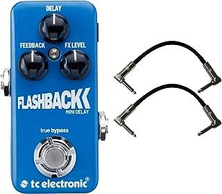 TC Electronic Flashback Delay Mini Guitar Effects Pedal Bundle 960806001
