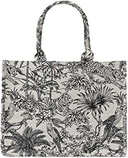 ALAIX Women' Tote Bag Handbag Canvas Bags for Women Removable silk scarf حقيبة يد نسائية حقيبة يد قماشية للنساء