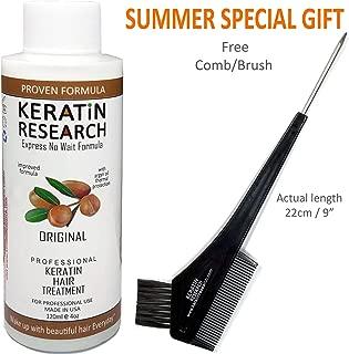 Keratin Blowout Hair Treatment Complex Brazilian 120ml Professional Results Straightens and Smooths Hair Queratina Keratina Brasilera Tratamiento