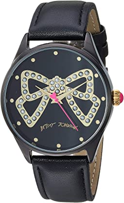 Pearl Bow Dial Motif & Strap Watch