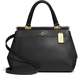 COACH Grace 20 Bag in Refined Calf Leather Li/Black 2 One Size