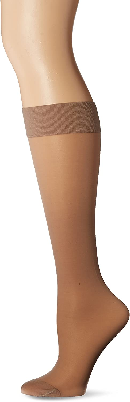 Jobst Women's UltraSheer Light Support Knee Highs,Silky Beige, Women's 7-9
