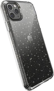 Speck Presidio Case With Glitter For iPhone 11 Pro Max, Clear/Gold Glitter