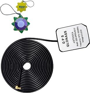 HQRP Antena externa GPS amplificada 1575.42 MHz de montaje magnético para unidades Lowrance GPS iWay 500C / 600C / 700C / ...