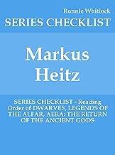 Markus Heitz - SERIES CHECKLIST - Reading Order of DWARVES, LEGENDS OF THE ALFAR, AERA: THE RETURN OF THE ANCIENT GODS