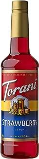 Torani Syrup, Strawberry, 25.4 Ounce
