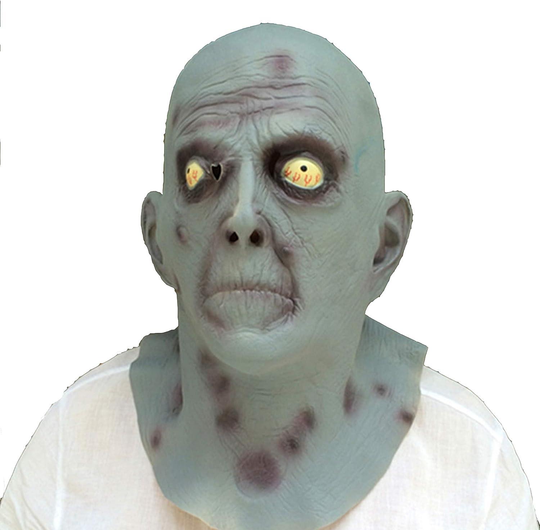 CbMoun Colorado Springs Mall Halloween Masks Zombie Costume Head 4 years warranty Cospla for