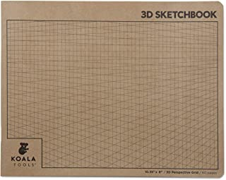 Koala Tools | 2-Point Drawing Perspective Notebook (1 Unit) | 10.35