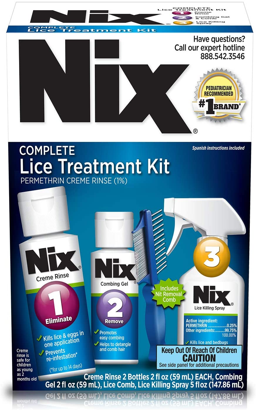 Nix Complete Lice Treatment Kit Multi and Hair Cheap super special price For Home San Diego Mall