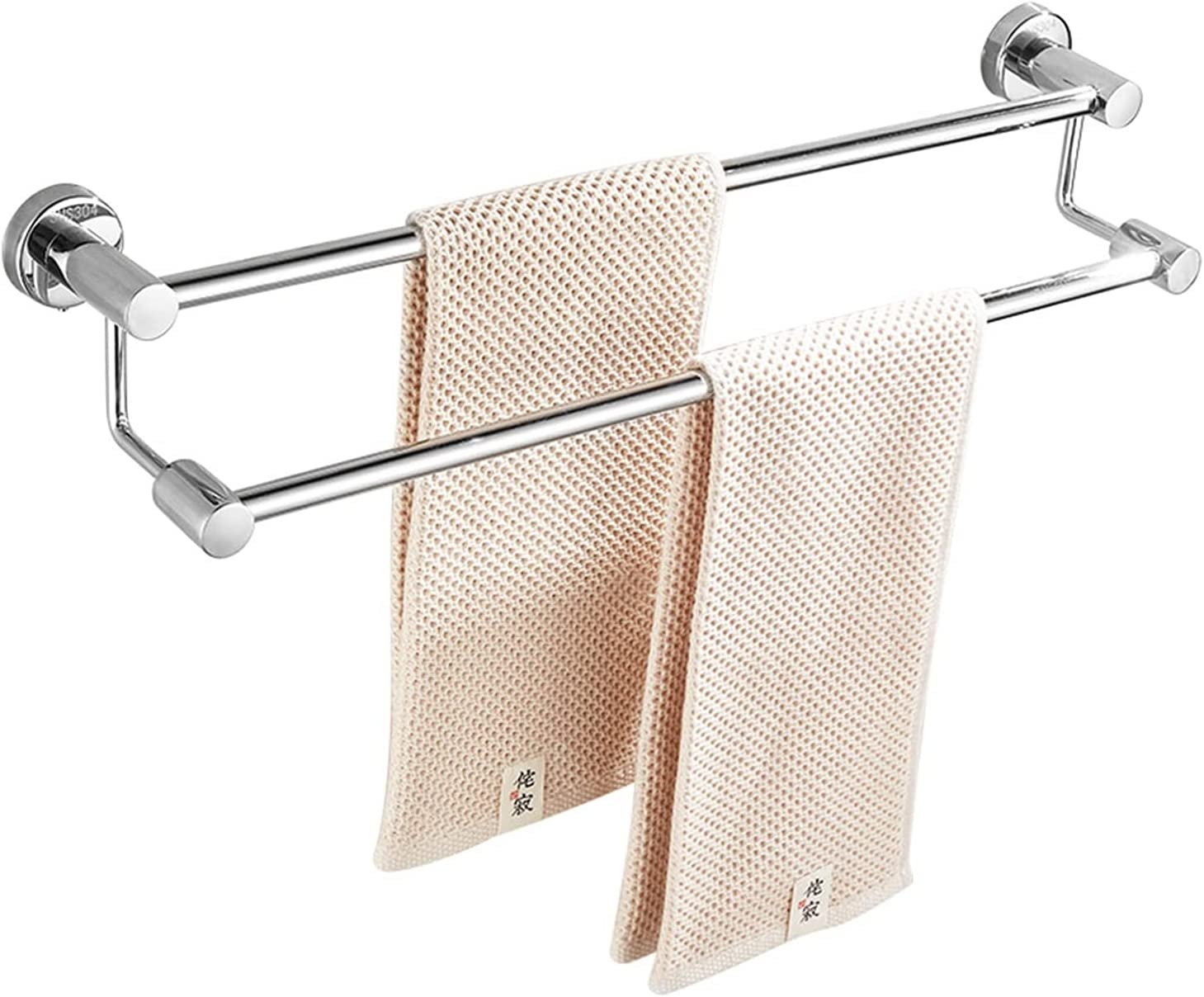 ZSPSHOP 304 Stainless Max 54% OFF Steel Towel Bathroom Bar Holder Max 64% OFF Wall