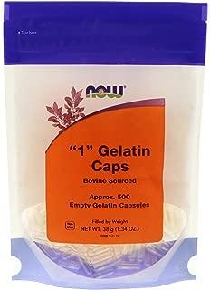 Now Foods Empty Gel Caps #1 500 Caps