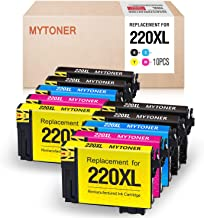MYTONER Remanufactured Ink Cartridge Replacement For Epson 220 XL 220XL Compatible with Epson WorkForce WF-2760 WF-2750 WF-2630 WF-2650 WF-2660 XP-320 XP-420 Printer(4 Black 2 Cyan 2 Magenta 2 Yellow)
