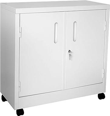 Armário de Aço Baixo Branco - ULTRA Móveis