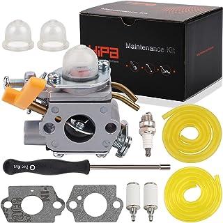 HIPA 308054013 Carburetor with Fuel Line Filter Spark Plug for Ryobi Homelite 308054012 308054004 308054008 25cc 26cc 30cc...