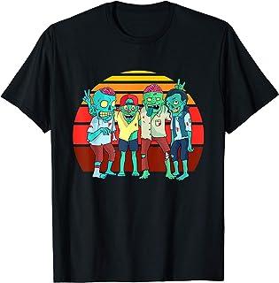 Zombies Rétro Vintage Zombie Graphique Cadeau Garçons Filles T-Shirt