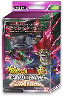 Dragon Ball Z Super Colossal Warfare Series 4 TCG Special Pack